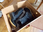 LL BEAN WOMENS BOOTS SIGNATURE 10 BLACK WAXED CANVAS SIZE 6 FITS 7 NEW IN BOX