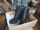 LL BEAN WOMENS BOOTS BLACK TUMBLED LEATHER SIZE 8 FITS 9 NEW IN BOX