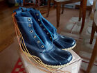 LL BEAN WOMENS BOOTS RAVEN LEATHER SIZE 8 FITS 9 NEW IN BOX