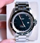 MINT Tudor (by Rolex) Black Grantour Date - Auto - Box/Papers - Porsche Styling