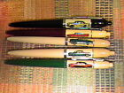 VINTAGE LOT OF 5 ADVERTISING CARS EVERSHARP DOUBLE CLICK BALL POINT PENS