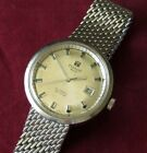 Vintage Tissot Seastar Men's Automatic Wristwatch 17 jewels 786-2 Stainless RUNS