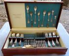 Set for 6 62 Pc Reed  Barton Sterling Silver Francis 1 Flatware Dinner LGSize