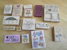 15 RUBBER STAMPS spring rubber stamps love rubber stamp heart templatebunny
