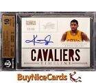 2012-13 Kyrie Irving National Treasures Timeline RC Rookie Patch Auto 25 BGS 10