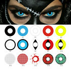 Eye Color Contacts Lenses Party Cosmetic Cosplay Vampire Colored Lens Witty