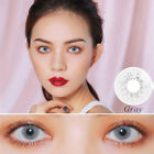1Pair 1Year Unisex Blue Sky Gray Jade Green Coloured Contact Lens Lenses Witty