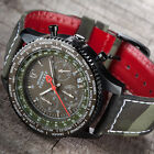 DETOMASO Firenze Camouflage Mens Wrist Watch Chronograph Military Style New