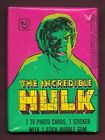 1979 Topps The Incredible Hulk Unopened Pack .
