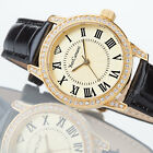 YVES CAMANI Pelissanne Ladies Wrist Watch Gold Plated Stainless Steel New