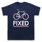 FIXED GEAR BICYCLE FIXIE RETRO STYLE BIKE RIDING CYCLE MENS WOMENS KIDS T SHIRT