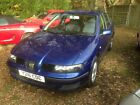 2001 SEAT LEON 16 16V 5 DOOR HATCHBACK 94000 MILES MOT NOVEMBER 2018