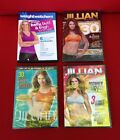 Lot Of 4 Workout Exercise Fitness DVD 3 NEW Jillian Michaels 1 Weight Watchers