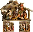 Christmas Holiday Nativity Set Indoor Outdoor Decor Resin Figurines Scene New