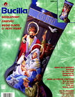 Bucilla Away In A Manger 18 Needlepoint Christmas Stocking Kit 84417 Nativity