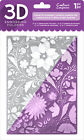 Crafters Companion 3D Embossing Folder 5X7 Country Garden