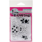 Pink  Main Clear Stamps 3X4 Lil Love Bug