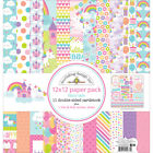 Doodlebug Double Sided Paper Pack 12X12 Fairy Tales