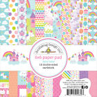 Doodlebug Double Sided Paper Pad 6X6 24 Pkg Fairy Tales