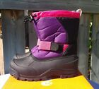 Northside Girls Zephyr Cold Weather Boot Purple Fuchsia Size 3 NEW