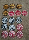 Lot of Michigan High School Athletic Association Patches MHSAA 1982 thru 1987