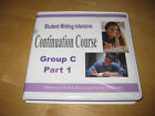 IEW Student Writing Intensive Continuation Course Group C Part 1 Class Material