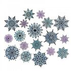Sizzix Stampers Anonymous Swirly Snowflakes by Tim Holtz Stamps OR Framelits