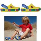 New Unisex Kids Summer Beach shoes Mammoth Mickey Mouse clogs Sandals