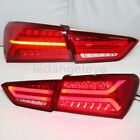 2017 year LED Turn lights For CHEVROLET Malibu XL LED Stirp Back Lamps Red WH