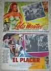 MAX OPHULS 2 Vintage Classics Le Plaisir 1952 Lola Monts 1955 12 Cards
