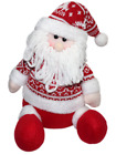 Happy Holiday Merry Christmas Santa Claus Doll Beanie Knitted Home Decor