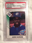 1993 JUAN GUZMAN KENNER STARTING LINEUP PORTRAIT CARD GRADED PSA 9 MINT POP 1