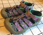 Keen Little Girls 13 Purple Water Shoes Sandals