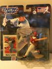 2000  BARRY LARKIN - Starting Lineup - SLU - Figure & Card - Cincinnati Reds