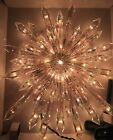 NEW NATIVITY CHRISTMAS GIANT PRELIT CRYSTAL TREE TOPPER STAR HARD TO FIND
