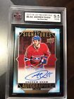 2017-2018 UD TIM HORTONS ANDREW SHAW AUTO REDEMPTION 9.5 NGM