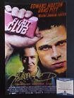 Chuck Palahniuk Fight Club Signed 10x15 Photo W Inscription Beckett Certified #1