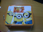 DESPICABLE ME 2 Metal Lunchbox tin Minions School Supplies Lunch Box Banana