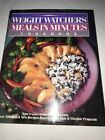 Meals in Minutes Cookbook by Inc Staff Weight Watchers International 1990 Ha