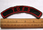 Girl Scout 1960s TOFS Troops Foreign Soil COUNCIL ID Identification Strip Patch
