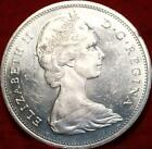 Uncirculated 1965 Silver Canada 1 Dollar Foreign Coin Free S H
