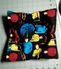 Star Trek Characters Quilted Microwavable Bowl Holder GREAT for hot or cold item