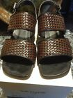 Italian Leather Womens Sandals EUR Sz 38 REDUCED