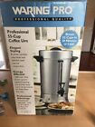 WARING PRO PROFESSIONAL 55 CUP COFFEE URN MAKER NEW IN BOX