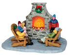 NEW LEMAX CHRISTMAS VILLAGES Outdoor Fireplace #44753