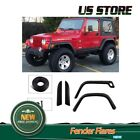 Fender Flares For 1997 2006 Jeep Wrangler TJ Pocket Bold on Full Wide Body 97 06