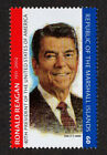 MARSHALL ISLANDS, SCOTT # 836, PRESIDENT OF USA RONALD REAGAN, MINT NEVER HINGED