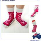Silly Socks PINK SNEAKER SOCKS Comfy Socks That Really Are Silly