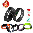 OLED V05C Smart Watch BT4.0 Sleep Heart Rate Monitor Bracelet For Android IOS US
