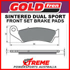 Goldfren Gas-Gas EC125 Racing 2015 Sintered Dual Sport Front Brake Pad GF041S3